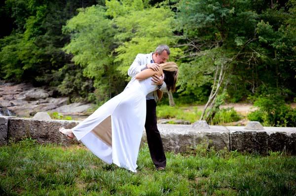 Photos of Waterfall Weddings
