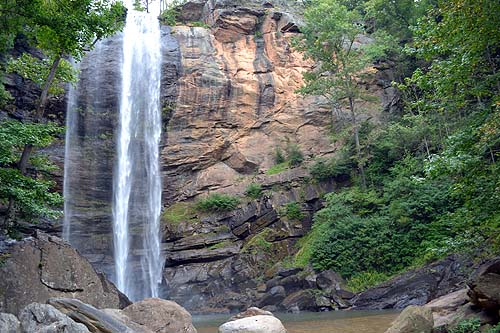 Toccoa Falls Private Waterfall Site
