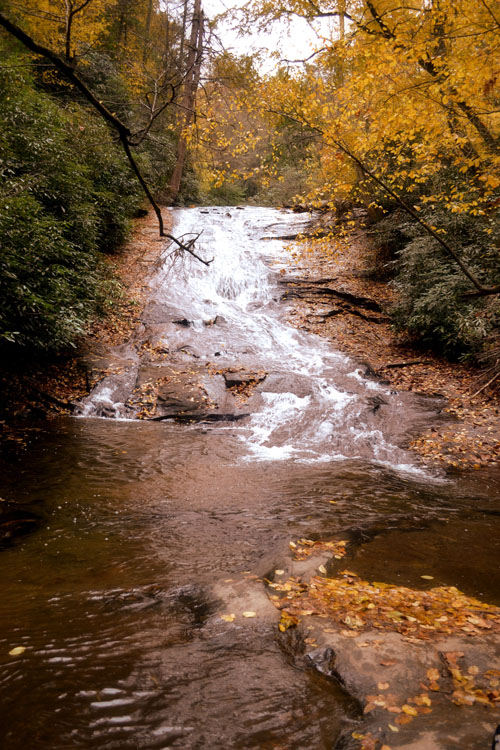 Helton Creek Falls Waterfall Wedding Location