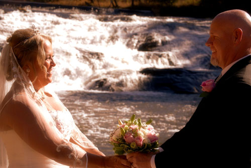 Far Winds Private Waterfall Wedding location
