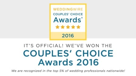 Wedding Wire Couples Choice Award Logo